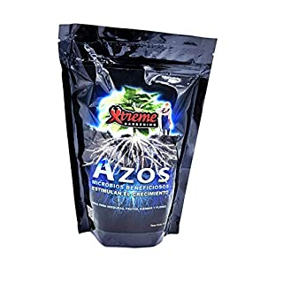 Xtreme Gardening Azos Root Booster Nitrogen Microbes Promote Growth Beneficial 6 oz