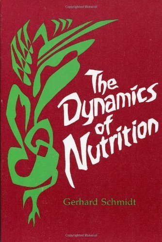 Dynamics of Nutrition by Schmidt, G. (1982) Paperback par G. Schmidt