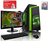 ADMI GAMING PC PACKAGE with Monitor, Keyboard & Mouse: AMD A6-6400K 4.1GHz Dual Core, Radeon HD 8470D Graphics, 1TB Hard Drive, 8GB RAM, Wifi, F3 Gaming Case, No Operating System