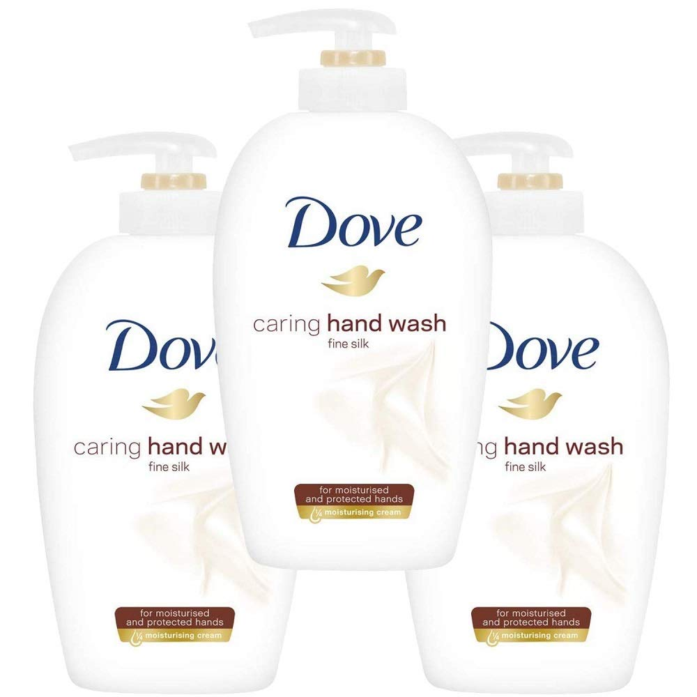 Dove Liquid Fine Silk Handwash, 250 ml, Pack of 3