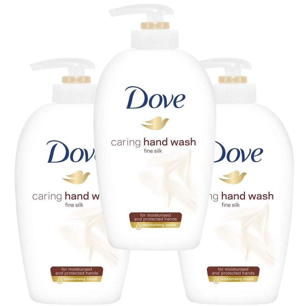 Dove Liquid Fine Silk Handwash, 250 ml, Pack of 3