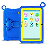 """Yuntab Kids Tablet Q88R (Android 4.4 Allwinner A33 1.5Ghz Quad Core 7"""" 1024x600 HD Display 512+8GB Capacity Dual Camera with iWawa Parental Control Software Pre-installed, Support Bluetooth 4.0 Wifi 3D Game &TF Card) (Azul)"""