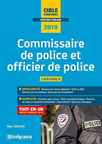 Commisaire et Officier de Police par  Dalens Marc