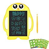 Sepper Maltafel Zaubertafel für Kinder, 9 Zoll tragbares elektronische Schreib und Zeichentafel, Kinder Geschenk, Handgeschriebenes Papier, Pinguin Tafel für Schule & Büro