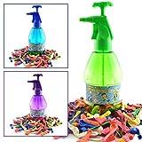 K7plus® Wasserbomben Pumpe inklusive 300 Wasserballons - Einfüllhilfe für Wasserbomben - 1