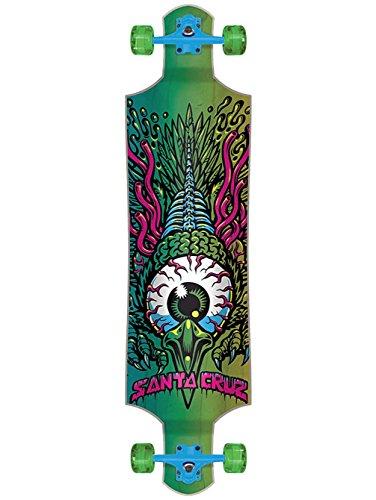 Longboard Drop Through Complete Santa Cruz Eagle Eye - 40 Inch Verde...