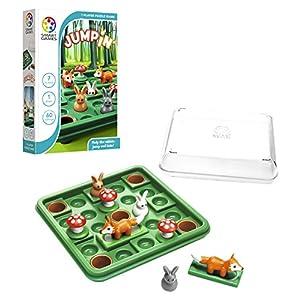 Games-SG421ES Smart Games-Jump In Individual, Regalos Educativos Divertidos, Rompecabezas, Juegos de Mesa para Niños 7-8años o Más (Ludilo SKU)