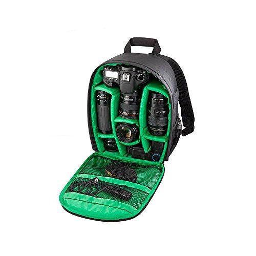 La prueba de agua digital DSLR Mochila, Bolso Mochila Bolsa Acolchada, Poncho 13.7 'multifuncional portátil suave bolsa caso de cámara de vídeo
