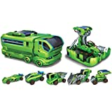 Emob 7 in 1 Changeable Solar Equipment Educational Game, Green