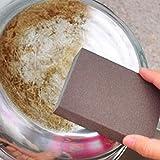 MNmkjgfgj Sponge Carborundum Brush Kitchen Reinigung Reinigung Küchenreiniger (Color : -, Size : -)
