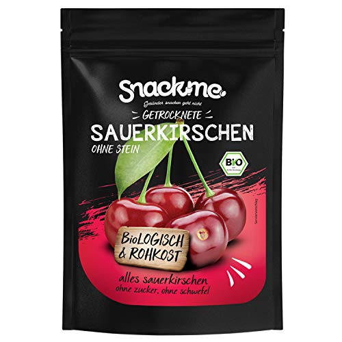 Bio getrocknete Sauerkirschen Früchte entsteint getrocknet 1kg Rohkost ungeschwefelt ungezuckert sonnengetrocknet naturbelassen unbehandelt