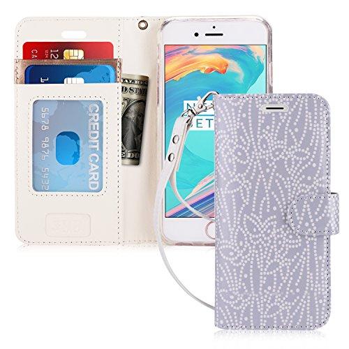iPhone 7Schutzhülle, Apple iPhone 7Fall, iPhone 7Telefon, fyy [RFID-blockierender Wallet] 100% Handgefertigt Brieftasche Schutzhülle Ständer Cover Kreditkarte Displayschutzfolie für iPhone 7