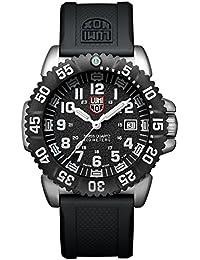 Luminox Navy SEAL Steel Colormark XS.3151.NV Reloj de Plásticolsera Cuarzo Hombre correa de Plástico Negro