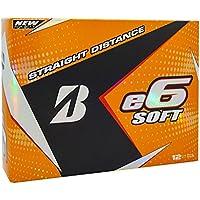 (White) - Bridgestone 2017 E6 Soft Golf Balls (One Dozen)