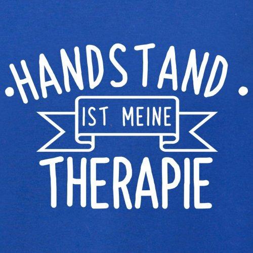 Handstand ist meine Therapie - Herren T-Shirt - 13 Farben Royalblau