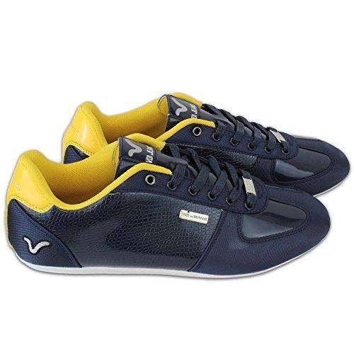 VOI Jeans - Basket Homme Winchester 2 Murano Chaussure Course Lacet Habillé Bleu Marine - VFW00247