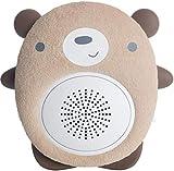 SoundBub, Macchina di Suoni Bianchi e Altoparlante Bluetooth | Riproduttore di Ninna Nanna Portatile e Ricaricabile per Neonati di WavHello - Benji l'Orso