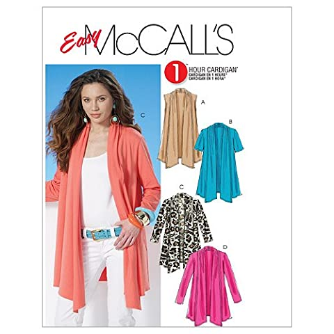 McCall's Patterns M6084 Size ZZ Large - Extra-Large - XXL