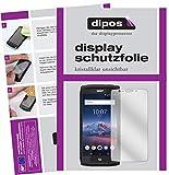 dipos I 2X Schutzfolie klar passend für Crosscall Trekker X4 Folie Bildschirmschutzfolie
