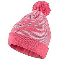 Womens Sportswear Beanie Blue - Pink Nebula