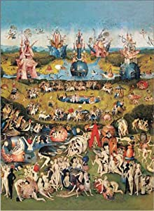 International Publishing 1001 N15887b - The Garden of Earthly Delights, clásica Puzzle