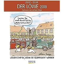 Löwe 2018: Sternzeichen-Cartoonkalender
