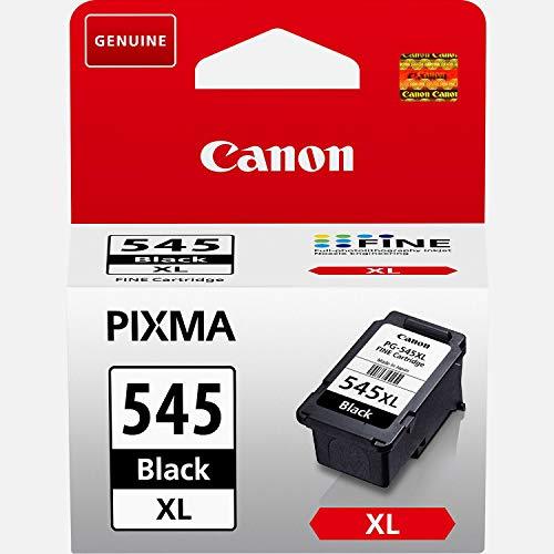 Canon PG-545XL original Tintenpatrone  Schwarz XL für Pixma Inkjet Drucker TS3150-TS3151-MX495-MG2450-MG2550-MG2550S-MG2555S-MG2950-MG3050-MG3051-MG3052-MG3053-IP2850