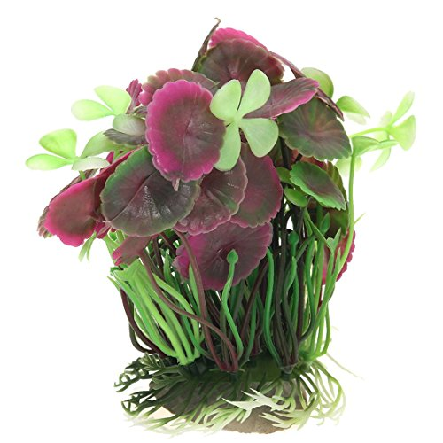 plante-feuilles-de-lotus-artificielle-fish-tank-aquarium-decoration-herbe-decoration-faux-en-silicon