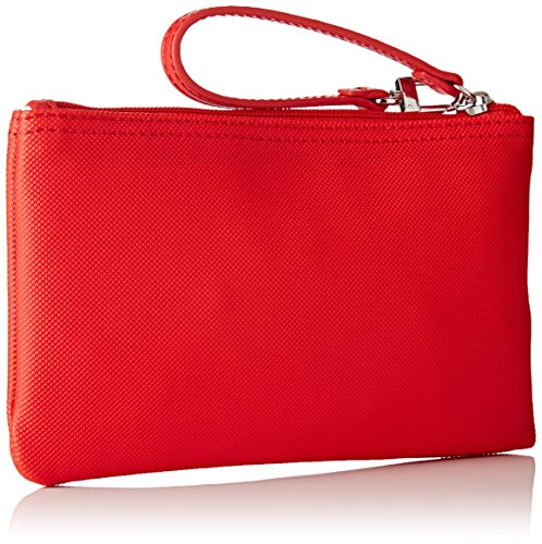 Lacoste NF2036PO, Borsa Organizer Donna, 12 x 1 x 21 cm RED ALTO RISCHIO (High Risk Red)