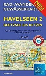 Rad-, Wander- Und Gewässerkarte Havelseen 2: Beetzsee Bis Ketzin: Buga 2015 Havelregion. Mit Buga-route Und Buga-expressroute. Mit Klein Kreutz, ... Berlinbrandenburg Maßstab 1:35.000)