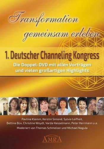 TRANSFORMATION GEMEINSAM ERLEBEN. ERSTER DEUTSCHER CHANNELING KONGRESS (Doppel-DVD in Box), 2 DVD-Video