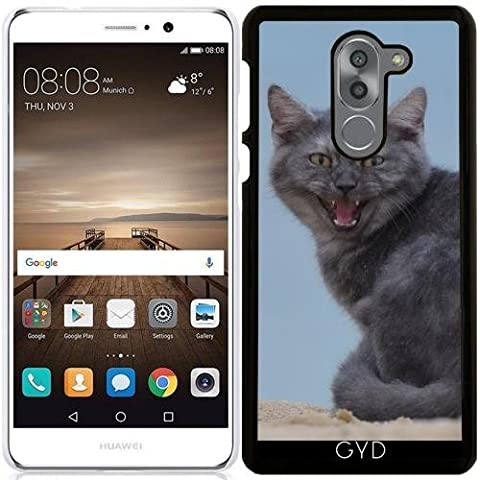 Coque pour Huawei Mate 9 Lite - Dangereux Chat Animal