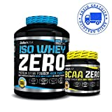 Iso whey zero + bcaa flash zero 2,27 kgs chocolate