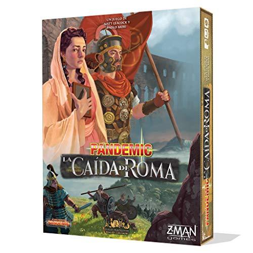 Z-man Games España- Pandemic: La Caída De Roma - Español, (ZM7124ES)