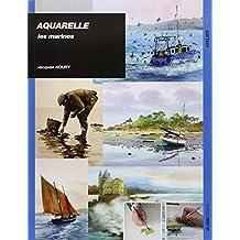 Aquarelle : Les marines