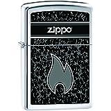 Zippo 60001089 Flamme Briquet Laiton High Polish Chromé 3,5 x 1 x 5,5 cm