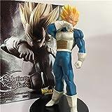 Dragon Ball Z Vegeta Fusion Súper Saiyajin Despertando Troncos Padre Gogeta Goku PVC Figura DBZ Colección Modelo18cm