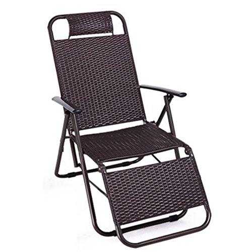 QIDI Chaise Longue Chambre Simple Métal 94 * 58.5cm