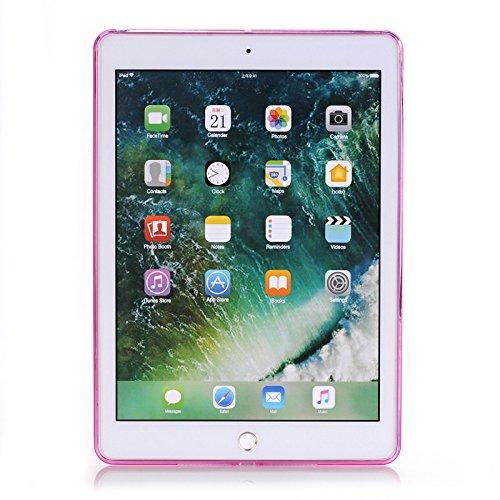 iPad Custodia in TPU iPad Cover trasparente Case Cover per iPad 7,9 pollici mini 4 (A1538/A1550), inShang Custodia morbida e flessibile Cover posteriore antiurto Custodia in pelle per involucro Super Slim