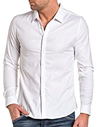 BLZ Jeans Chemise Homme Blanche Chic