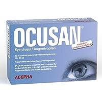 Preisvergleich für Ocusan® 20 praktische EDO Einmal-Augentropfen von AGEPHA I Mit Hyaluronsäure, Ohne Konservierungsmittel I Schutz...