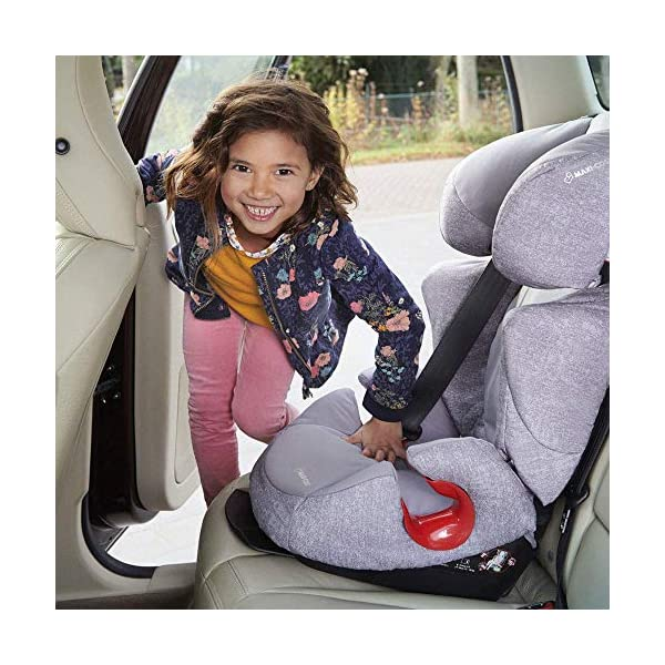 Maxi-Cosi Rodi Air Protect Car Seat, Group 2/3, Black Diamond Maxi-Cosi Forward facing group 2/3 car seat suitable for children from 15 to 36 kg (approx. 3.5 to 12 years) Patented airprotect side impact technology integrated into headrest, protects child's head in case of collision Retractable isofix connectors lock the car seat to the body of the car, ensuring stability and ease of use [ ISOFIX not included ] 7