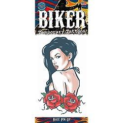 Chaks bkr-406, tatuaje Biker pin-up