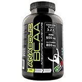 Net INTEGRATORI Anabolic BCAA 100 compresse Aminoacidi Ramificati 3:2:1 con Hmb Glutammina e Vitamina B6