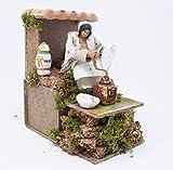 Joy Christmas Pastore per Presepe in Movimento 14 cm x 9 cm Macina caffè 43104