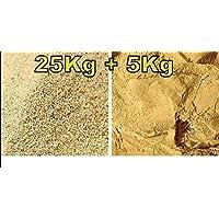 Terrario Arena/oscuro de arcilla–25Kg De Arena + 5kg de arcilla