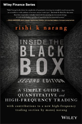 Inside the Black Box: A Simple Guide to Quantitative and High Frequency Trading (Wiley Finance) por Rishi K. Narang
