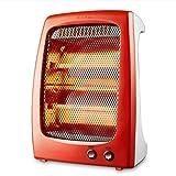 SEEKSUNGM Riscaldamento, Ventilatore Portatile, Riscaldamento radiante, 600W Due Riscaldamento, Dimensioni: 25 * 13 * 35cm