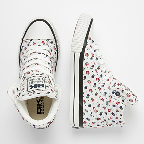 British Knights Dee, Sneaker Donna BIANCO/FIORATO