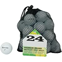 Second Chance Golf Lakebälle TaylorMade 24 Premium Grade A, weiß, PRE-24-MESH-TM
